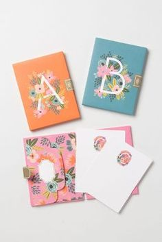 Monogram Notecards from Anthorpologie