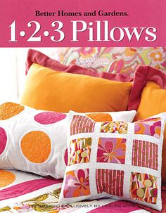 1-2-3 Pillows BOOK - Better Homes & Garden. $10.95, via Etsy.