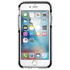 iPhone 6s Kılıf, Spigen Ultra Hybrid TECH - Crystal Black
