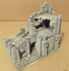 Ancient Ruin B - Osgiliath - Frostgrave - LOTR  - Wargames Scenery - Terrain | eBay!