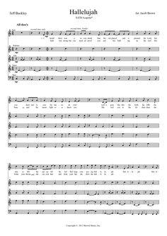 Hallelujah SATB ACAPELLA* (Jeff Buckley) | MuseScore