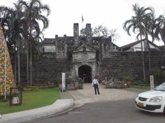 """Cebu- Fort San Pedro, the oldest Spanish fort in the Philippines, established by conquistador Manuel Lopez de Legazpi in 1565 of coral stone and eggwhites, mixed to create a form of concrete.  He named it after his ship, also called the """"San Pedro."""""""