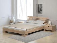 Bed Headboard Design, Bedroom Bed Design, Bedroom Furniture Design, Bed Furniture, Modern Bedroom, Modern Wood Bed, Black Headboard, Modern Bedding, Furniture Projects