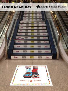 Our #floorgraphics are great for communicating messages. They are designed to handle heavy foot traffic. Call Now! 1-800-516-7606