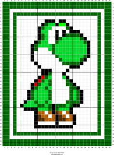Free To Use Yoshi Pattern Chart