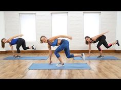 10-Minute Booty Workout For the Muscles You Forget to Work | Class FitSugar - YouTube