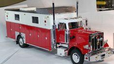 Model Fire truck rescue body Semi 1:24 1:25 scale model Diorama | eBay