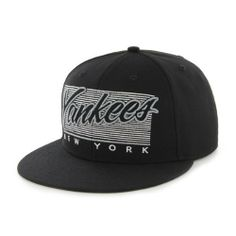 47 Brand New York Yankees Kalvin Snapback Cap (Black) by '47 Brand. Save 20 Off!. $19.99. 85% Wool, 15% Acrylic. Crisp, fresh stitching. acrylic. 47 Brand provides the quality all true fans desire in their gear. Known for their vintage look and feel, '47 has managed to also provide a new school spin to this old school craze. Featuring tight, crisp stiching; 47 Brand has made their claim as the source for snapbacks. Snap this hat and never look back.