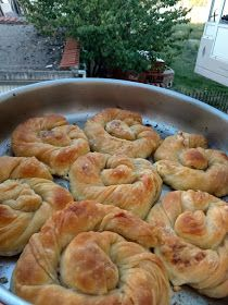 Cauliflower Soup, Greek Recipes, Bakery, Appetizers, Bread, Cooking, Savoury Pies, Food, Pastries