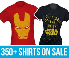 Still have deals, shirts and many things on sale. Excited for #ForceFriday? #apparel http://www.superherostuff.com/holiday-deals