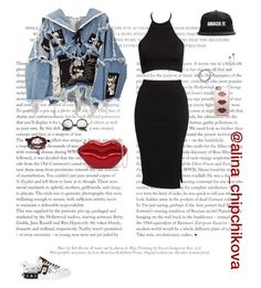 """""""Без названия #832"""" by alina-chipchikova ❤ liked on Polyvore featuring BLK DNM, Oneness, Hot Topic, Casetify, Dolce&Gabbana, ZeroUV and Bling Jewelry"""
