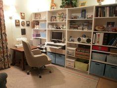 craft room/office idea