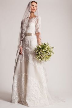 Temperley Bridal 2016 Isabella Wedding Dress | www.onefabday.com