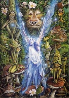 Same artist that made those tarot cards that inspired our faery evolution project.