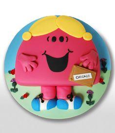 Little Miss Sunshine Birthday Cake FETE Enfants Pinterest - Little miss birthday cake