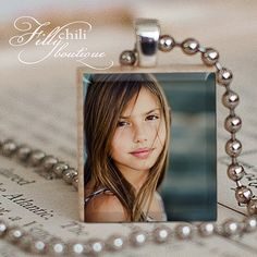 CUSTOM PHOTO CHARM  a jewelry pendant charm made by FrillyChili, $11.95