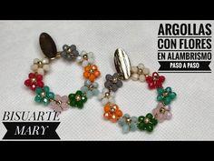 Beaded Brooch, Beaded Jewelry, Beaded Bracelets, Daisy Chain, Wire Earrings, Wire Wrapping, Bracelet Watch, Jewelry Making, Jewels