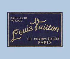 Beach Towel-Louis Vuitton.