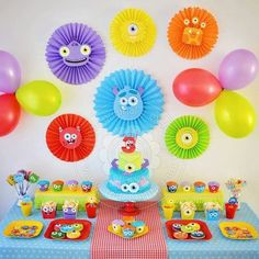 Baby Shower Boy Theme Monsters Inc 47 Ideas Baby Shower Boy Theme Monsters Inc 47 Ideas Monster Party, Monster 1st Birthdays, Monster Birthday Parties, First Birthdays, Monster Decorations, Birthday Decorations, Monsters Inc Baby Shower, Monster University Party, Best Baby Shower Gifts