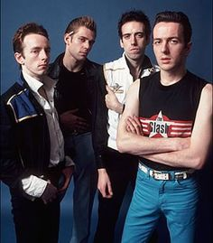 Topper, Paul, Mick and Joe - The Clash