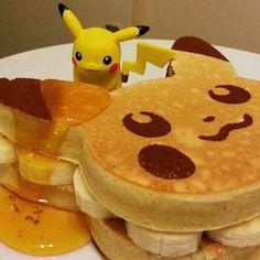 pikachu, pokemon, and food image Comida Disney, Japanese Food Art, Japanese Candy, Cute Baking, Good Food, Yummy Food, Cute Desserts, Cafe Food, Aesthetic Food