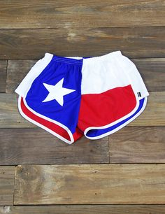 Show your patriotic side while stayin' cool in these new Texas Flag shorts!