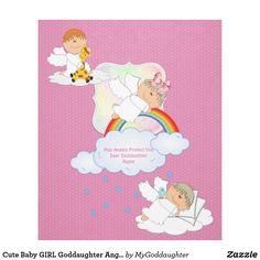 Cute Baby GIRL Goddaughter Angels Named Fleece