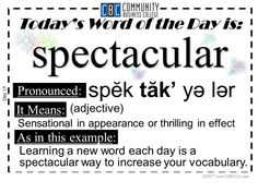 32 Best Words of the Day images | Word of the day, Words, S word