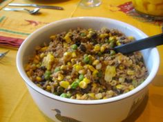 Spicy Rainbow Rice and Beans Recipe
