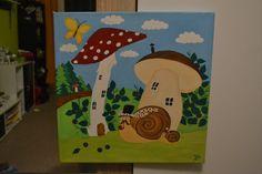 #pictureforkids #mushrooms #snail #houby #šnek