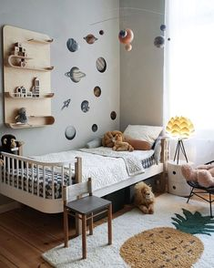 Pretty Scandinavian Kids Rooms Designs Ideas - When it comes to decorating kids rooms, one of the most important things to do is keep it simple. Danish Interior Design, Danish Design, Scandinavian Kids Rooms, Scandinavian Interiors, Nursery Room Decor, Kids Room Design, Kid Spaces, Boy Room, Home