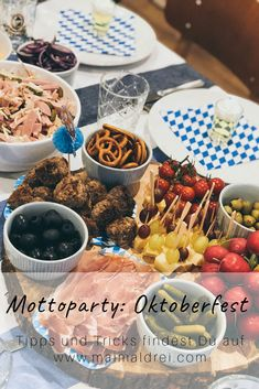 Best Garden Decorations Tips and Tricks You Need to Know - Modern Octoberfest Party, Oktoberfest Food, Finger Food Appetizers, Finger Foods, Appetizer Recipes, Polynesian Food, Unprocessed Food, Baby Food Recipes, Kids Meals