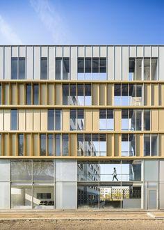 En-Social Housing Residence / PetitDidier Prioux Architectes