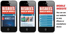 Just type in www.marlinworldmedia.com in your phone's web browser and it will redirect you automatically to our mobile website!!! Offshore Fishing, Web Browser, Magazine, Website, Type, Phone, World, Telephone, Magazines