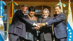 """Unasur to be purged of its """"ideological bias"""", anticipates Paraguay At the time of its launching Unasur was under the influence of Brazil's Lula da Silva and Dilma Rousseff, the Kirchners, Hugo Chavez, Rafael Correa. Nestor Kirchner, Evo Morales, Under The Influence, Great Leaders, Clint Eastwood, Product Launch, Victoria, History, American"""