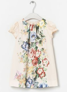Zara floral girl's dress