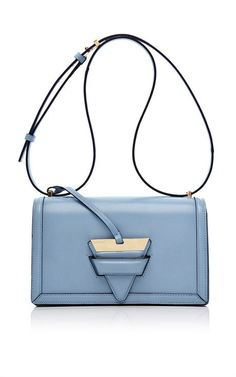 Barcelona Shoulder Bag In Light Blue by Loewe for Preorder on Moda Operandi