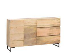 160 cm x 88 cm x 40 cm Mango wood