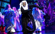 Whoopi Goldberg starred in Sister Act at the London Palladium in 2010