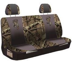$39.85-$46.00 Baby Bench Seat Cover, BROWNING - Universal Vehicle Accessories protect, beautify and revitalize your car or truck interior! Spiff up your ride! You wax your fenders and polish your chrome... why not give the interior a little TLC give your vehicle a whole new look, and an extra layer of insulation from wear and tear. One-size-fits-most designs are optimized to fit a wide array of  ...