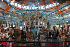 Pullen Park Carousel. It would be perfect during a reception at a wedding.