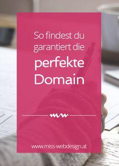 So findest du garantiert die perfekte Domain | miss-webdesign.at