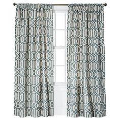 Curtains: Threshold™ Farrah Lattice Window Panel