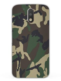Camouflage - Military Army - Designer Mobile Phone Case Cover for Moto G4