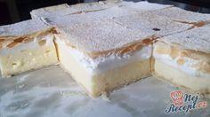 Sladké maškrty Archives - Page 2 of 38 - Recepty od babky Cheesecake, Salty Snacks, No Bake Cake, Vanilla Cake, Nutella, Camembert Cheese, Nom Nom, Sweet Tooth, Deserts