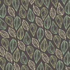 Coleção Brumas - 3404 - Contorno de Folhas Tecidos Fabricart