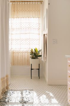 Elsie's Guest Bathroom Tour (Before + After) – A Beautiful Mess