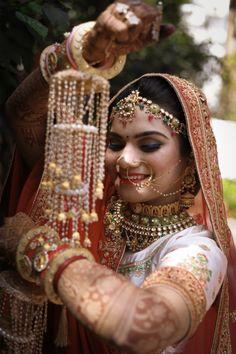 Indian wedding kaliras for bride Lehenga Wedding, Lehenga Saree, Mehendi, Candid, Real Weddings, Wedding Photography, Indian, Album, Bride