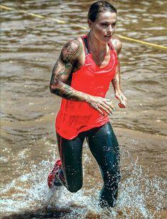 Christmas Abbott. Spartan Race Female Crossfit Athletes, Crossfit Women, Crossfit Inspiration, Fitness Inspiration, Spartan Race Training, Post Baby Workout, Christmas Abbott, Fit Couples, Street Workout