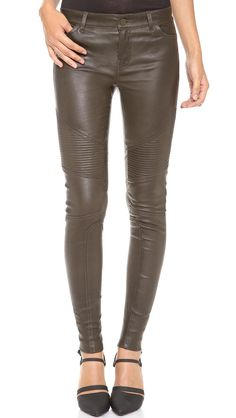 Love the Vince Leather Moto Pants on Wantering.